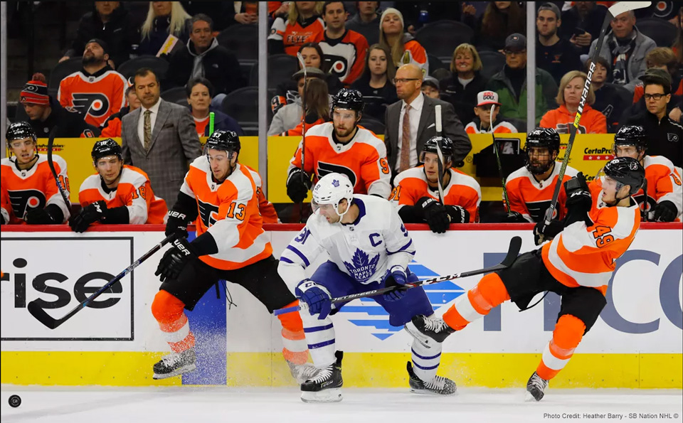 Flyers Notch 100th Franchise Win over Toronto