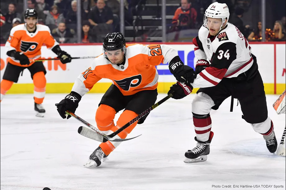 Coyotes Howl and End Flyers Win Streak