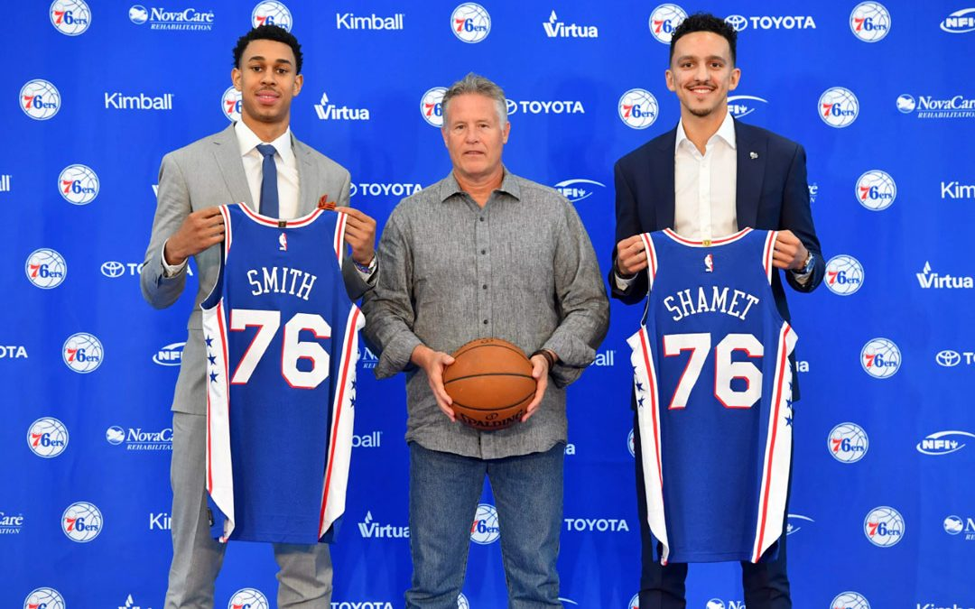 Sixers Look To Draft Picks, Backyard For 2018-19