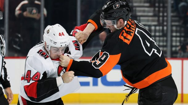 Flyers Impeach Senators, 4-3