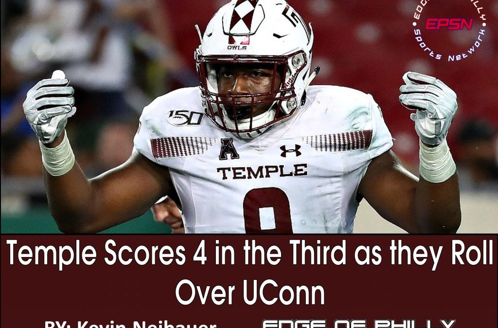 Temple Scores 4 in the Third as they Roll Over UConn