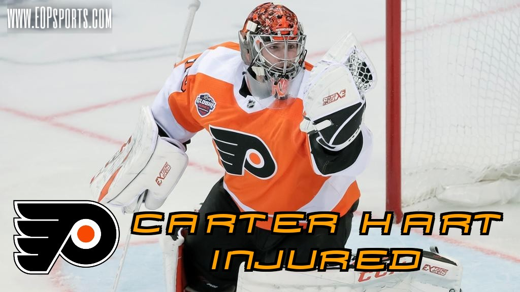 Carter Hart to Miss 2-3 Weeks