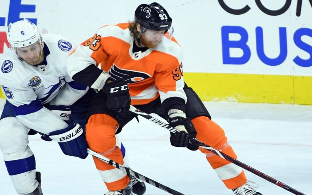 Flyers Hit By Lightning, 1-0