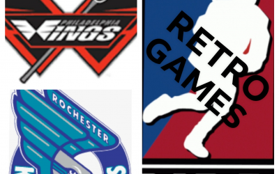Retro National Lacrosse League (NLL) Games