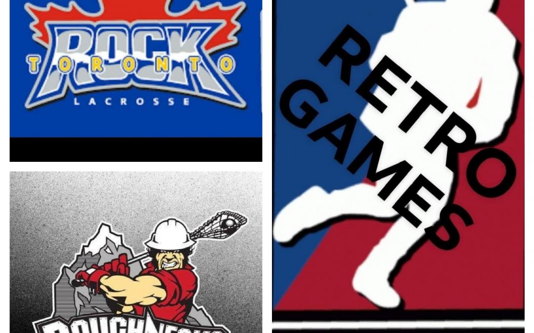 National Lacrosse League (NLL) Retro Games