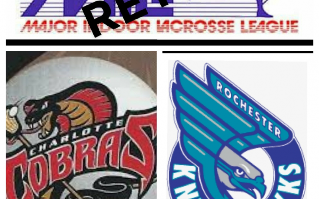 Major Indoor Lacrosse League (MILL) Retro Games