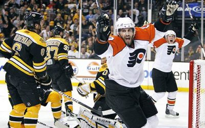 Flyers v Bruins: 10 Years Ago Today