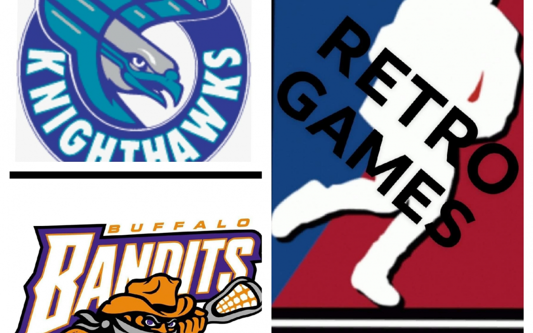 The National Lacrosse League (NLL) Retro Game Of The Week